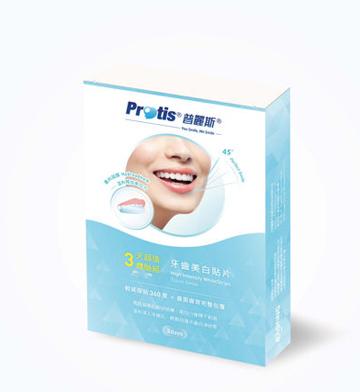 Protis普麗斯 牙齒美白貼片_輕感服貼_三天超值體驗組