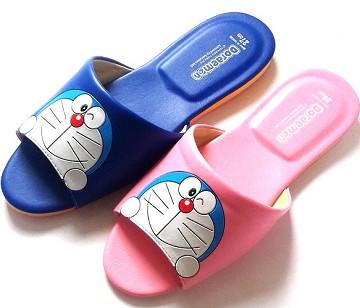 (e鞋院)哆啦A夢兒童室內拖鞋 ~藍~
