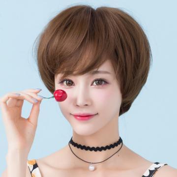 【MB029】韓劇女主角 空氣薄瀏海 超美 耐熱 短髮 假髮