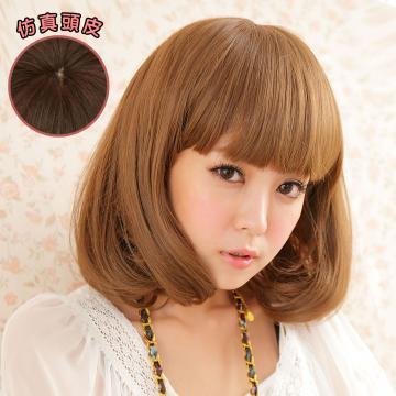 【MB014】韓劇女主角 空氣薄瀏海 超美 耐熱 短髮 假髮