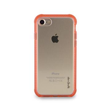 iPhone 7 -超抗摔吸震空壓保護殼_粉橘色