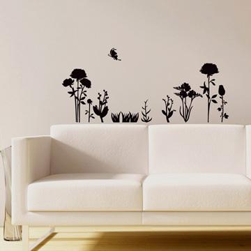 Smart Design 創意無痕壁貼◆秘密花園( 8色)
