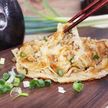 <慕鈺華> 黃金蔥抓餅/7片 (2組)