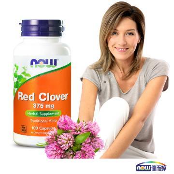 <b><font color=red>舒適渡過熟女特殊期</font></b>NOW健而婷-紅花苜蓿-頂級植物異黃酮(100顆/瓶)