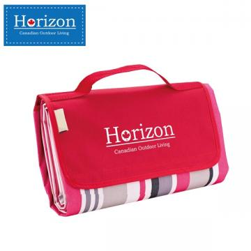 【Horizon 天際線】防潮沙灘野餐墊 - 附防水收納袋 ( 摩登紅 )