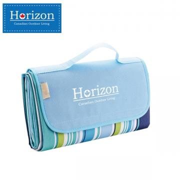 【Horizon 天際線】防潮沙灘野餐墊 - 附防水收納袋 ( 天空藍 )