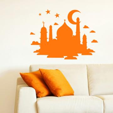 Smart Design 創意無痕壁貼◆印度風情( 8色)