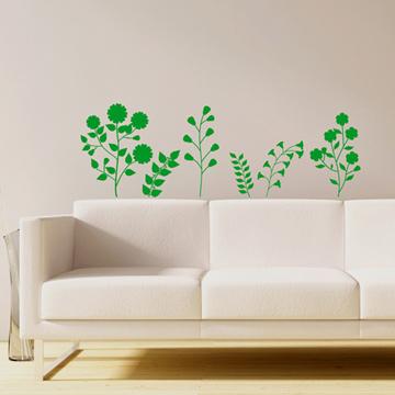 Smart Design 創意無痕壁貼◆花與小草( 8色)