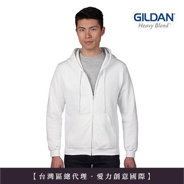 美國第一品牌GILDAN -亞規連帽拉練外套