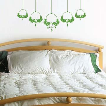 【Smart Design】創意無痕壁貼◆祝福的花園(八色可選)