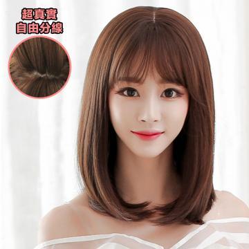 【MC346】任選2頂999~韓系高仿真 自由分線 小清新 美麗 氣質短髮 直髮