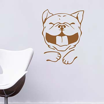 Smart Design 創意無痕壁貼◆笑口常開