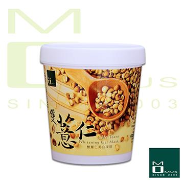 《MOMUS》雙薏仁美白凍膜 250g