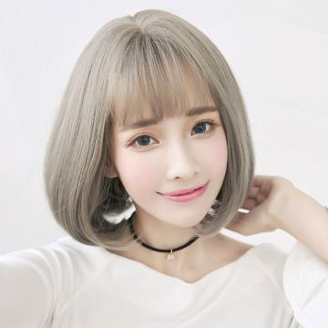 【MB352】韓式高仿真  自由分線 梨花 髮尾微彎 短髮