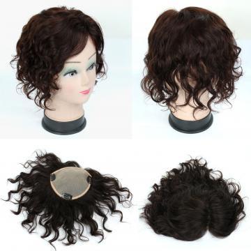 【RT35】全手織 內網約15X13公分 髮長約20公分 可任意分邊 補髮塊 女仕100%真髮