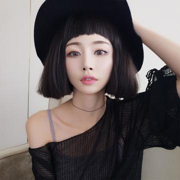 【MB372】狗啃瀏海 韓國修臉學生頭  超美 耐熱 短假髮