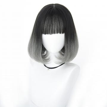 【MB387】韓系高仿真 自由分線 空氣瀏海 短直髮