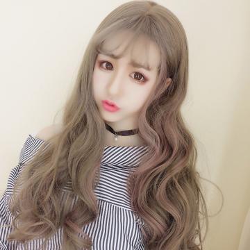 【MA383】挑染  大頭皮自由分線 空氣瀏海 超美 耐熱 長捲髮 假髮