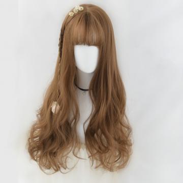 【MA379】大頭皮自由分線 空氣瀏海 超美 耐熱 長捲髮 假髮