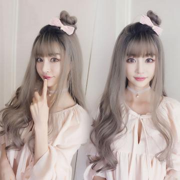 【MA371】韓系側分 大波浪 空氣瀏海 超美 耐熱 長捲髮 假髮