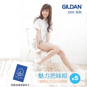 GILDAN  美版短袖素面T-Shirt(5件)