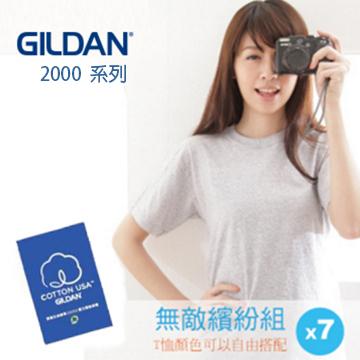 GILDAN 美版短袖素面T-Shirt(7件)