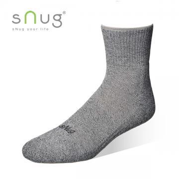 sNug 腳臭剋星-動能氣墊運動襪6雙優惠組