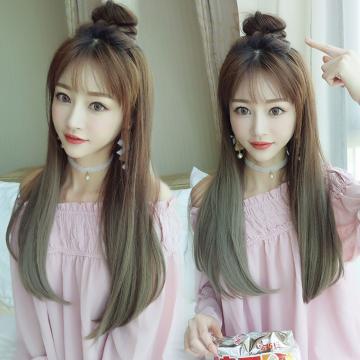 【MW390】全新設計U型假髮 韓系女神漸變 直髮微彎 逼真自然