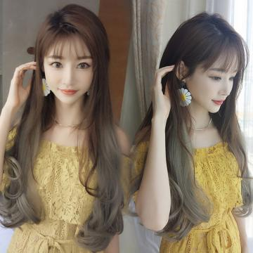 【MW393】全新設計U型假髮 韓系女神漸變 直髮微彎 逼真自然