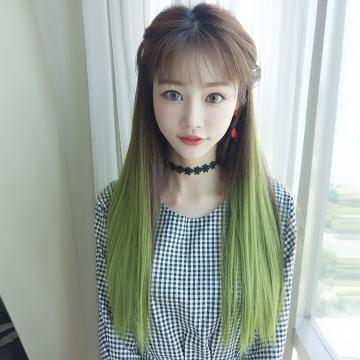 【MW396】全新設計U型假髮 韓系女神漸變 直髮微彎 逼真自然