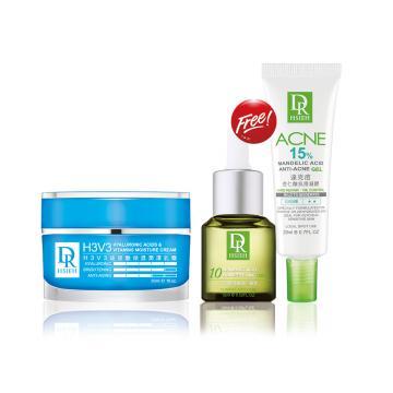 H3V3玻尿酸保濕潤澤乳霜30ml  贈 10%杏仁酸深層煥膚精華15ml