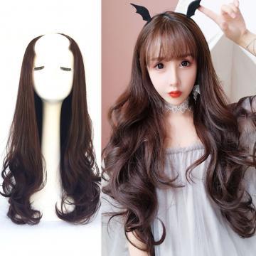 【MW418】全新設計U型半罩式假髮 韓系浪漫捲髮 逼真自然