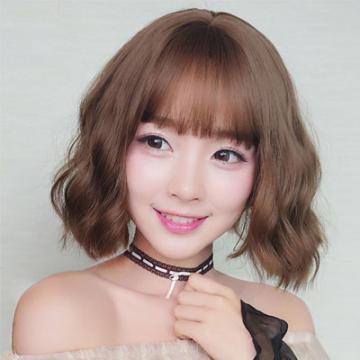 【MB407】韓系高仿真 自由分線 自然感空氣瀏海 短捲髮☆雙兒網☆