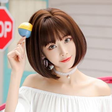 【MB419】真實度破表!! 擬真韓系假髮 側分 自然短髮BOBO頭