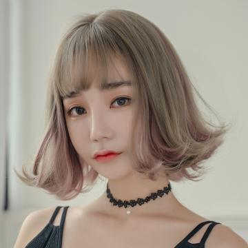 【MB425】真實度破表!! 擬真韓系假髮 外翹 短髮捲