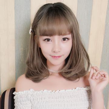 【MX405】真實度破表!! 擬真韓系假髮 超萌 小臉感 梨花頭