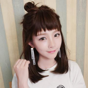 【MC406】真實度破表!! 擬真韓系假髮 不規則瀏海 短直髮
