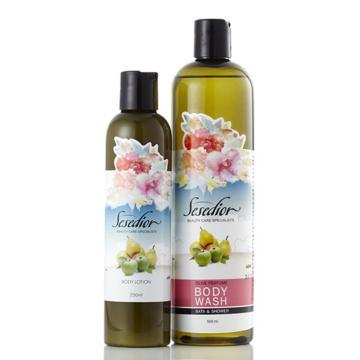 【Sesedior】空中花園香氛身體沐浴1+1組