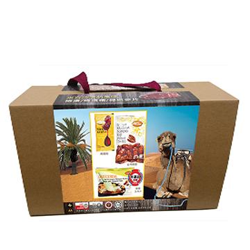 中東-美味椰棗綜合禮盒 椰棗100gx4包 耶棗精20gx4包