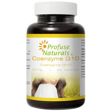 優沛康【沛然 Profuse Naturals 】輔酵素Q10 30mg膠囊(60顆/瓶) 單瓶入