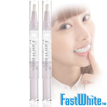 美國【FastWhite齒速白】晶燦齒釉筆-猶如牙齒的唇蜜 創新牙齒晶燦科技(2入)