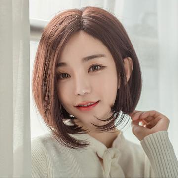 【MR93】側分韓式短髮 全長約33公分 仿真頭頂 抗菌內網 100%頂級整頂真髮