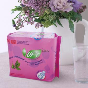 【芫茂UFT】天然草本衛生棉 - 安心夜用型*20包