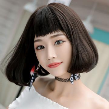【MB483】狗啃瀏海 時尚內彎 高仿真 BOBO頭 短髮