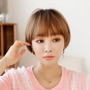 【MB485】空氣瀏海 高仿真 俏麗女孩 BOBO頭 短髮