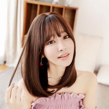 【MX492】高仿真 韓系 空氣瀏海  甜美度UP  梨花頭 假髮