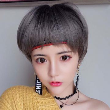 【MB535】狗啃瀏海  高仿真假髮 BOBO頭 超短髮