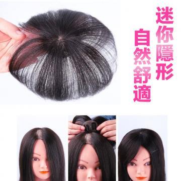 內網4X4公分 髮長17公分 迷你型 微型增髮 頭頂補髮片 適合輕微脫髮 遮白髮【RT54】 ★雙兒網★