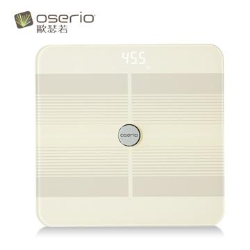 【歐瑟若 Oserio】七合一無線心率體脂計 FTG-168