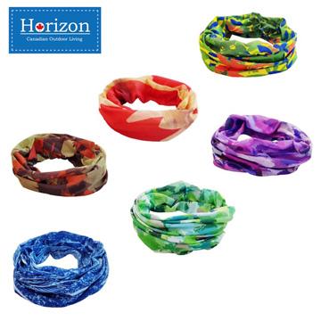 【Horizon 天際線】吸濕排汗悠活抗UV魔術頭巾